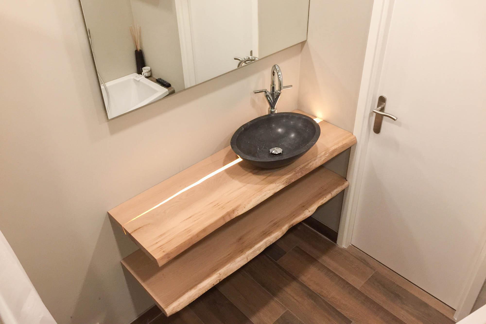 hout badkamer